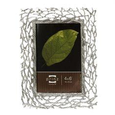 Prinz Whitman Antiqued Silver 4 x 6 Photo Frame #VonMaur