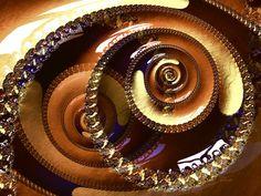 Fractal Swirl Cappuccino von Max Steinwald