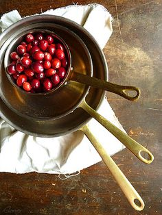 Almond Corner: Chestnut Soup with Marsala and Cranberry stuffed R...