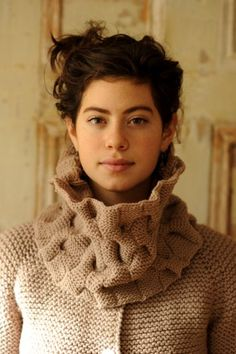 wow! love this cowl by Quince & Co.
