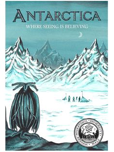 Antarctic - where seeing is believing by aglastudio