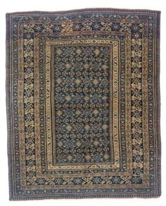 antique Tchi-tchi rug   --185cm. x 152cm.(6ft.5in. x 5ft.) I Christie's Sale 9302