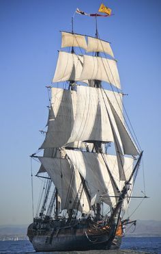 Sail on a 3 mast sailing ship. This is the HMS Surprise out of San Diego, CA