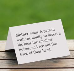 Printable Mother's Day Card – Definition