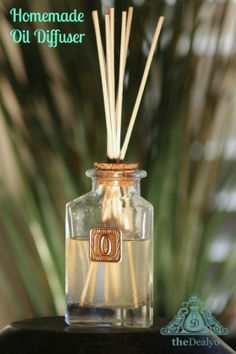 theDealyo.com - Homemade Oil Diffusers with Step by Step Instructions. Only $1.58 each.