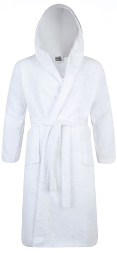 Mens   Ladies 100% Cotton Terry Towelling Hooded Shawl Collar Bathrobe  Dressing Gown Bath Robe  Amazon.co.uk  Clothing bcdcaf667