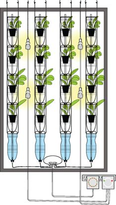 Create your own hydroponic window farm - The Cheap Vegetable Gardener