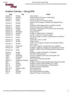 Brooklyn College Calendar Spring 2022.Lunar Calendar Brooklyn College Calendar Spring 2021