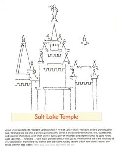 Temple FHE...tons of different coloring pages, books, handouts, etc. about temples