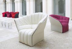 MOËL  ARMCHAIR / DESIGN INGA SEMPÉ / BY LIGNE ROSET / YEAR 2007 | @ligneroset #designbest - Furniture Design