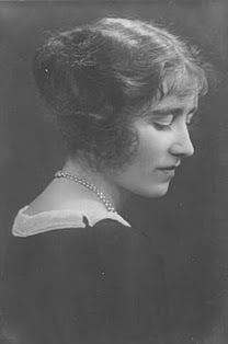 Lady Elizabeth Bowes-Lyon (The Queen Mother), around the time she became engaged to Prince Albert, Duke of York, circa 1923.