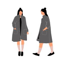Coat design for CO.CO - Yali Ziv