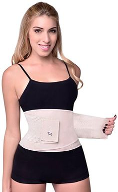 e8a1ab7a38 Women s Hourglass Waist Trainer Belt by Sbelt at Amazon Women s Clothing  store  Midjeträning
