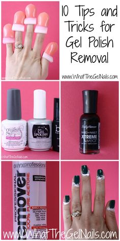 Gel Polish Removal Can Be A Pain But With These 10 Tips And Tricks It Much Easier Faster