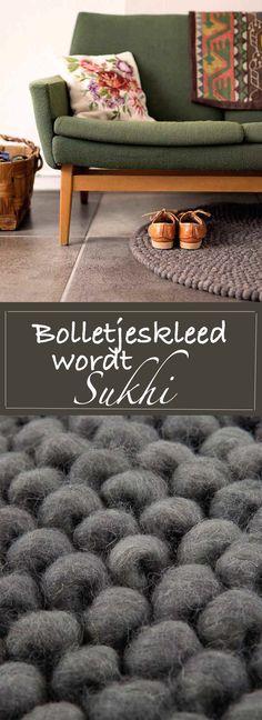 Bolletjeskleed wordt @sukhi_nl. Een sociale onderneming zorgt voor rechtstreekse verkoop van vloerkleden uit Nepal, India, Marokko en Turkije. Bekijk ze snel. | http://trendbubbles.nl/