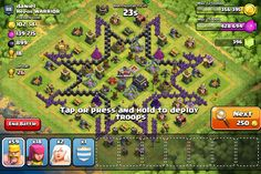 This clash of clans base is beast. Join Got Healers? For free elder !!!!