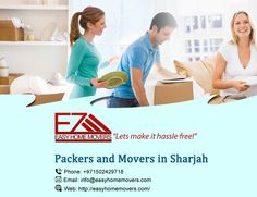 Companies In Dubai, Packing Companies, House Movers, Packers And Movers, Sharjah, Good Things, Let It Be, Easy