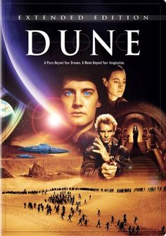 Directed by David Lynch.  With Kyle MacLachlan, Virginia Madsen, Francesca Annis, Leonardo Cimino. A Duke's son leads desert warriors against the galactic emperor and his father's evil nemesis when they assassinate his father and free their desert world from the emperor's rule.