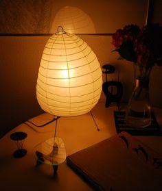 イサムノグチ AKARI 照明【送料無料】。イサムノグチ AKARI あかり アカリ 1N(無地) LED電球(40W形相当) Isamu Noguchi テーブルランプ 和紙照明【送料無料】【あす楽】