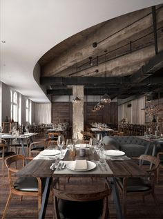 Visuallation Best of May 2014 : Mercato Restaurant by Vicky Bedford 3d Interior Design, Interior Rendering, Restaurant Interior Design, Cafe Interior, Interior Exterior, Interior Architecture, Chinese Architecture, Design Interiors, Hotel Restaurant