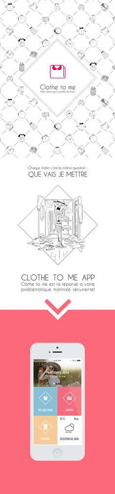 Clothe To Me App ★ Branding identity.