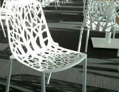 White Forest Chair by Robby Cabtarutti and Francesca Petricich