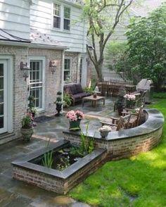 award winning patio designs large yard landscaping ideas grant power landscaping award winning landscaping and maintenance - Award Winning Patio Designs