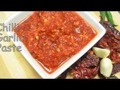 Home made Chilli garlic paste