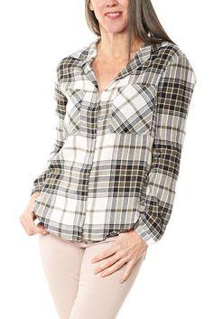 Bella Dahl Hipster Shirt in Clover