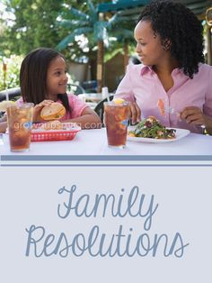 Family Resolutions - Grown Ups Magazine - New Year's resolutions that'll keep you moving forward together.