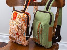1255 Kenzie Cross Body Sling Bag PDF Pattern