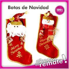 Botas de Navidad de lujo para Decoración Navideña