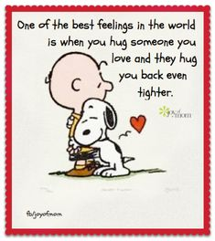 Woodstock Snoopy, Charlie Brown Y Snoopy, Charlie Brown Quotes, Gifs Snoopy, Snoopy Hug, Snoopy Frases, 70s Quotes, Life Quotes, Peanuts Quotes