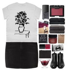 """this city's a bore"" by universed ❤ liked on Polyvore featuring SELECTED, Generic Surplus, Givenchy, LSA International, NARS Cosmetics, Christy, Serge Normant, Louis Vuitton, Eyeko and hajertopset"