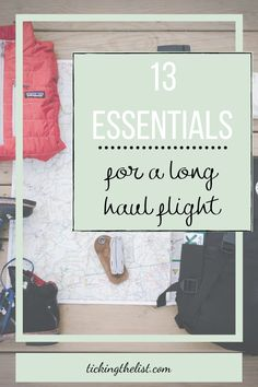 Do you come off a long haul flight feeling groggy, stiff and uncomfortable? These essentials will turn all that around for you and have you feeling refreshed and ready for a day of sightseeing after your long haul flight.