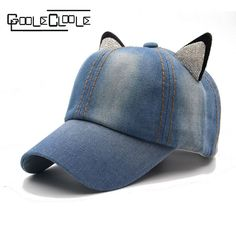 beebca84370 Fashion summer hats for women jewelry cat auditive baseball cap hats for  children girls hats snapback