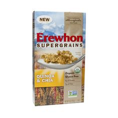 Shop Erewhon Organic Quinoa & Chia Supergrain Cereal at wholesale price only at ThriveMarket.com