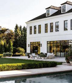 Dream Home Design, My Dream Home, House Design, Custom Home Builders, Custom Homes, Style At Home, Belle Villa, Dream House Exterior, Home Fashion