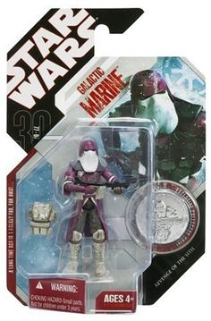 "Amazon.com: STAR WARS 3.75"" BASIC FIGURE GALACTIC MARINE: Toys & Games"