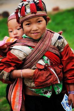 Faces of North Vietnam - the Red Dzao Boys by  DocBudie, via Flickr