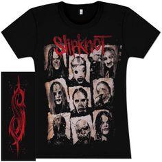 Slipknot Xerox Girlie T-Shirt