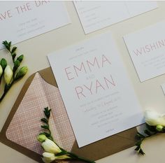A lovely invitation for a rustic wedding 🌿🌿🌿Pairs perfectly with a kraft envelope. #wedding stationery #weddinginvitation #polkadotpaper