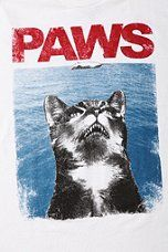 Urban Outfitters - Riot Society PAWS Tee