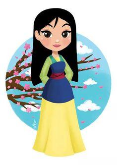 Mulan by Inehime on DeviantArt disney Disney Princess Drawings, Disney Princess Art, Princess Cartoon, Disney Fan Art, Disney Drawings, Disney Princesses, Princess Pocahontas, Disney Pocahontas, Punk Disney
