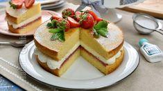 Victoria sponge cake - reteta video Victoria Sponge Cake, No Cook Desserts, Sweet Tooth, Deserts, Cooking, Breakfast, Food, Youtube, Pie