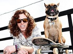 Shaun White's Dog Wants to Be an Athlete Like His Daddy - Stars and Pets, Dogs : People.com