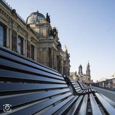 Dresden Katholische Hofkirche - Bildkomposition nach der Goldenen Spirale - Fotoideen und Fotografie Tipps von like-foto.de