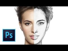(1376) Come TRASFORMARE una foto in un disegno REALISTICO in Photoshop - YouTube Photoshop Tutorial, Septum Ring, App, Youtube, Pictures, Fotografia, Apps, Youtube Movies