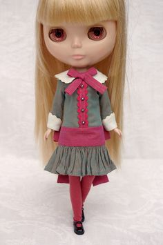 """""""La Polichinelle""""   Blythe clothes for dolls : tutorial : Kikihalb ♧ Forest~Tales ♧"""