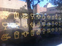 Abi Haus Window Decal Icons by Ryan Feerer Icon Gif, Window Signage, Window Graphics, Birthday Invitations, Invites, Environmental Graphics, Window Decals, Pictogram, Line Icon